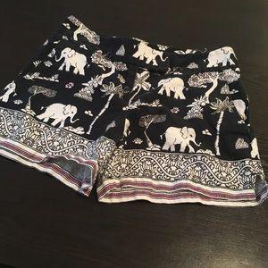 Elephant shorts from Loft
